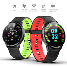 LIGE Smart Bracelet IP67 Waterproof Heart Rate Blood Pressure Monitoring Music control Smartwatch Fitness Tracker For Men Women