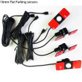 4pieces/lot Original Parking Sensors 16mm Flat Sensor Car Radar Parktronic assistance, Black Silver White Red Blue Gray