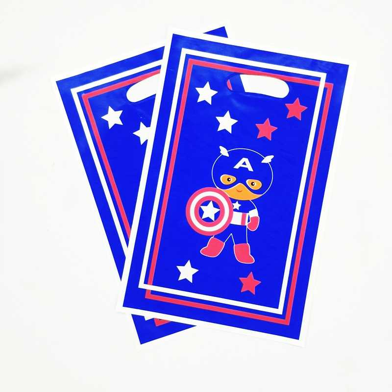 Detail Feedback Questions About 10pcs Cartoon Anime Captain America