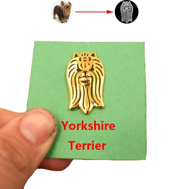 Купить броши и булавки mdogm в виде йоркширской собаки милые забавные