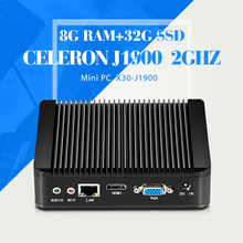 Mini PC Windows Embedded Celeron J1900 N2940 N2930 8G RAM+32G SSD+WIFI Desktop Laptop Computer With 4*USB 2.0, 1*USB 3.0
