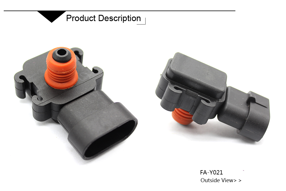 Manifold Pressure Sensor 9359409 For 1996-2008 Chevrolet Express 1500 2500 3500