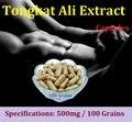 Tongkat Ali Cápsulas 100 Granos Piezas Originales Esencia Extracto de Raíz En Polvo En Bruto De Malasia Para Hombre Productos de Salud