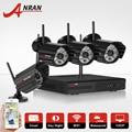 ANRAN 2.0 Megapixel 4CH WIFI NVR CCTV System 2TB HDD 1080P 5GHz Outdoor IR Night Vison Security WIFI IP Camera Surveillance Kit