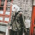 Мужские Винтажные куртки-карго  куртки-бомберы армейского зеленого цвета с несколькими карманами  ветровка Ds50273  весна 2019