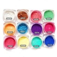 Beauty Nail Polish Powder Rhinestones Discoloration Nail Glitter Magic Mirror Glitter Manicure tools