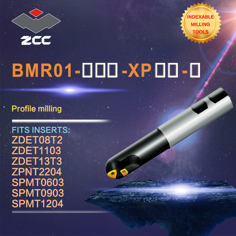 ZCC.CT original profile milling cutters BMR01 high performance CNC lathe tools indexable milling tools
