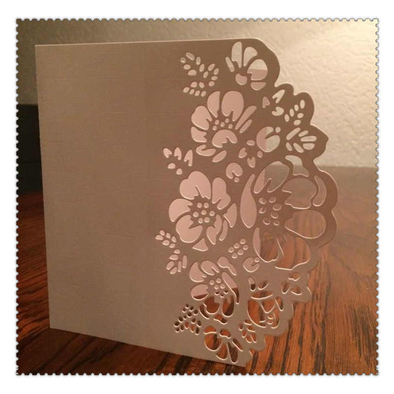 Hollowed lace Metal Cutting Dies Stitched DIY Scrapbooking Stamps Craft Embossing Die Cut Making Stencil Template New 2019