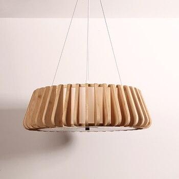 במבוק מסעדה ארוחת אווירה נורדי מנורת פנס מנורות סלון מנורת חדר השינה נברשת במבוק יפני chandel zb29