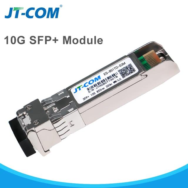 US $350 0 |10Gb 300m LC SFP Module Multimode Duplex Fiber Transceiver 10g  gigabit SFP+ SR Fibra Optical Module Compatible with Cisco Switch-in Fiber