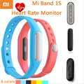 Original Xiaomi Smart Wristband Mi band 1S Heart Rate Monitor Pulse For Android/IOS Mobile Phone Xiaomi Miband Bracelet 1 Pulse