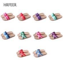 HRFEER Moteriški šlepetės Breathable Linen Sandals 2018 Nauji vyriški batai Kasdieniai šlepetės Sandalinis uždaras batų namo šlepetė