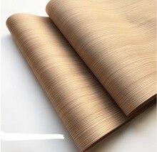 1 stück L: 2,5 meter Breite: 55cm Technologie Holz Haut Gerade Linien Holz Furnier