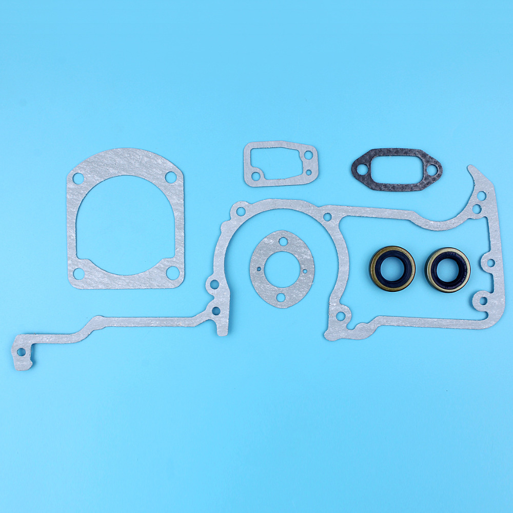 Gaskets Kit W/ Oil Seals For HUSQVARNA 61 66 266 268 272 272XP 268K Chainsaw Replacement Spare Parts 501 52 26-04 / 503 26 02-04