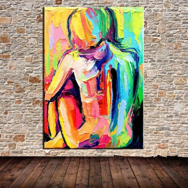 naakt vrouwen canvas olie schilderkunst hand geschilderd naakt
