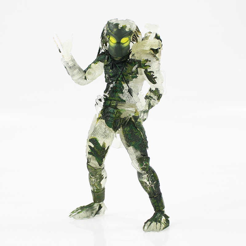 20 cm NECA 30th Anniversary Anime Predator Jungle Demon Beeldje Alien VS Predaor PVC Action Figure Collectible Model Toy Doll