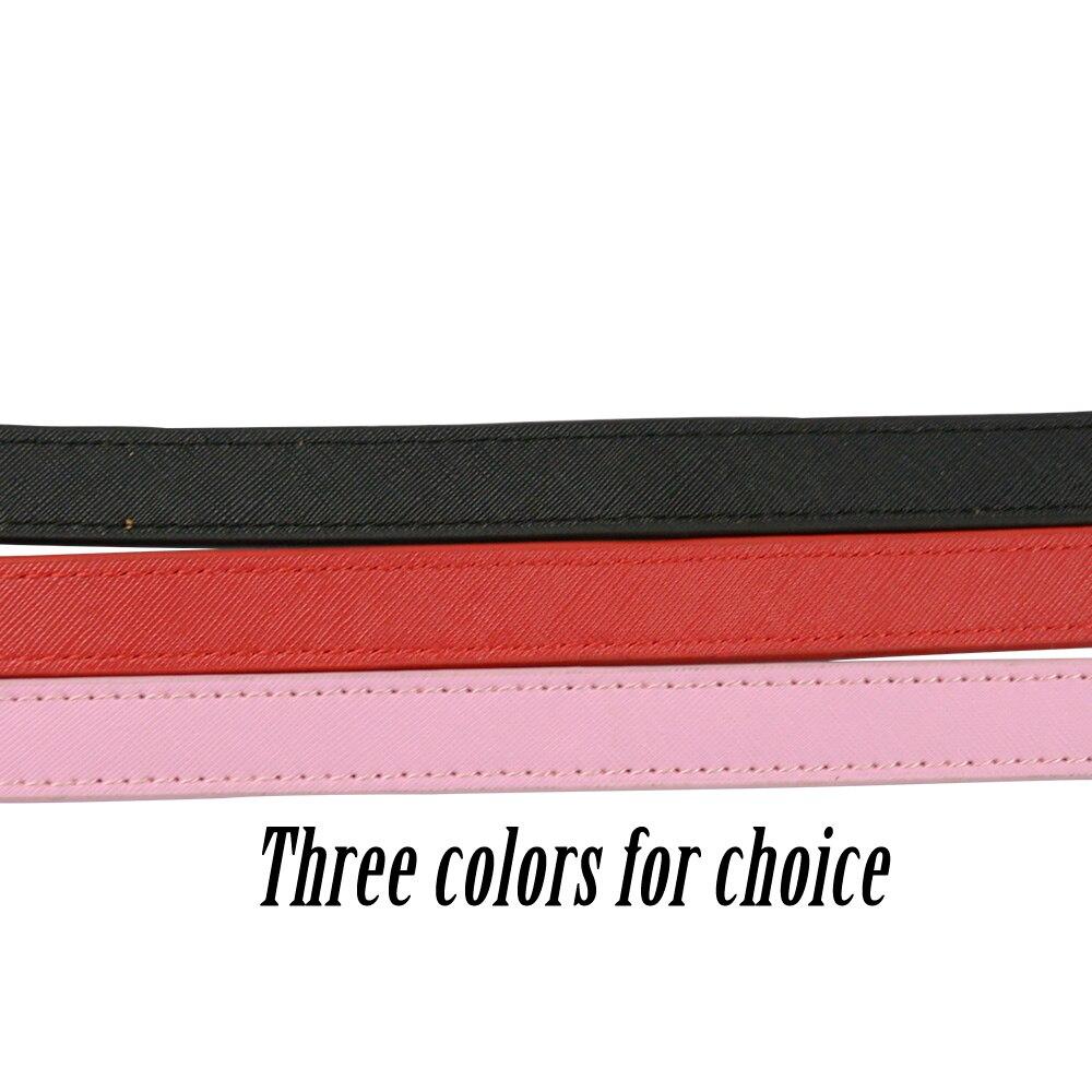 Image 2 - Женский Цветной ремень Tanqu, короткий ремень из искусственной кожи с длинной цепочкой для Obag, Сумка с o образной ручкой, 2019Детали и аксессуары для сумок   -