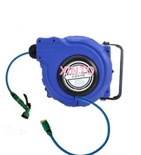 water hose reel automatic retractable reel plumbing hoses