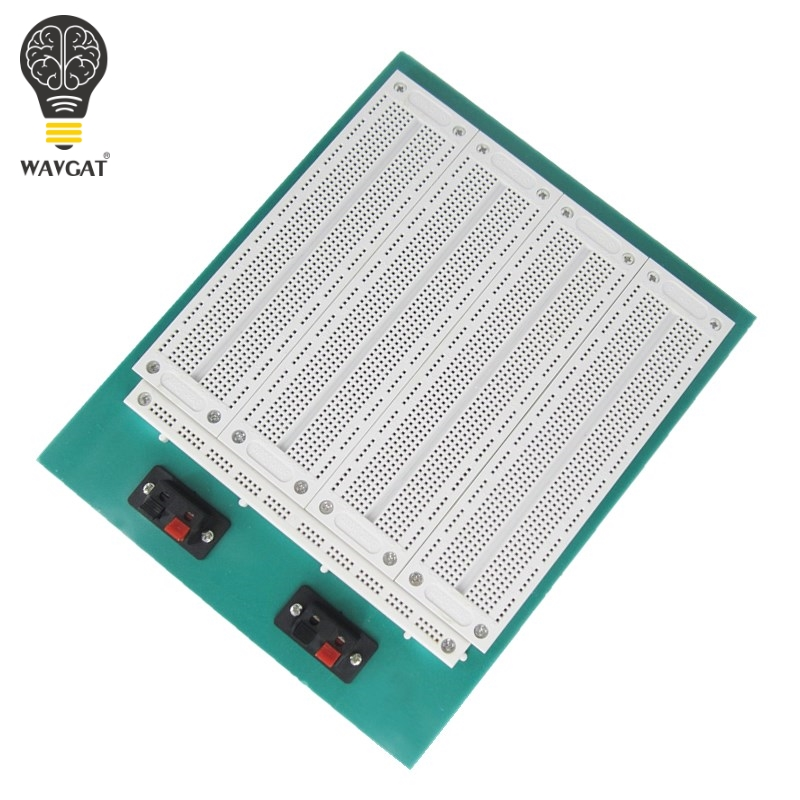 4 In 1 700 Position Point SYB-500 Tiepoint PCB Solderless Bread Board Breadboard WAVGAT4 In 1 700 Position Point SYB-500 Tiepoint PCB Solderless Bread Board Breadboard WAVGAT