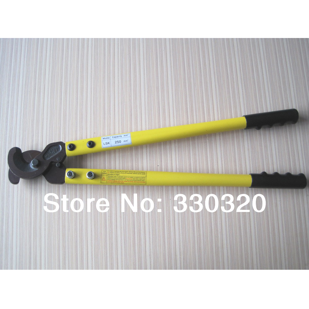 Able Lsk-250 Long Arm Heavy Duty Cable Cutter For Cutting Wire Max 250mm2
