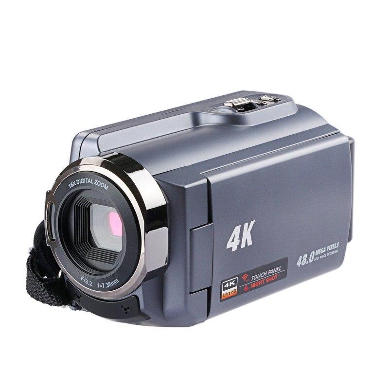 HDV 534K Wi Fi Цифровая камера Веб камера HD CMOS Сенсор 13,0 Мега Пиксели CMOS 16X Цифровой Зум инфракрасного Ночное видение фото Камера s