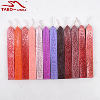 Antique Carved Sealing Wax Stick Wicks For Retro Vintage Sealing Stamp Luxury Gift Box Decoration