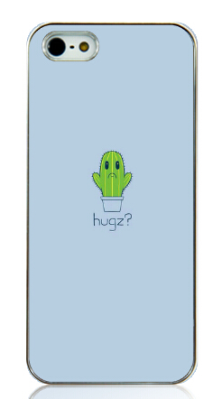 Hot New cactus potting printed Hard Back Case Cover for Iphone 5 5s 5g Free shipping