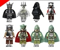 8 unids/set figuras building blocks establece china marca de el señor de los anillos el hobbit wang ling dejar de fumar compatible con lego