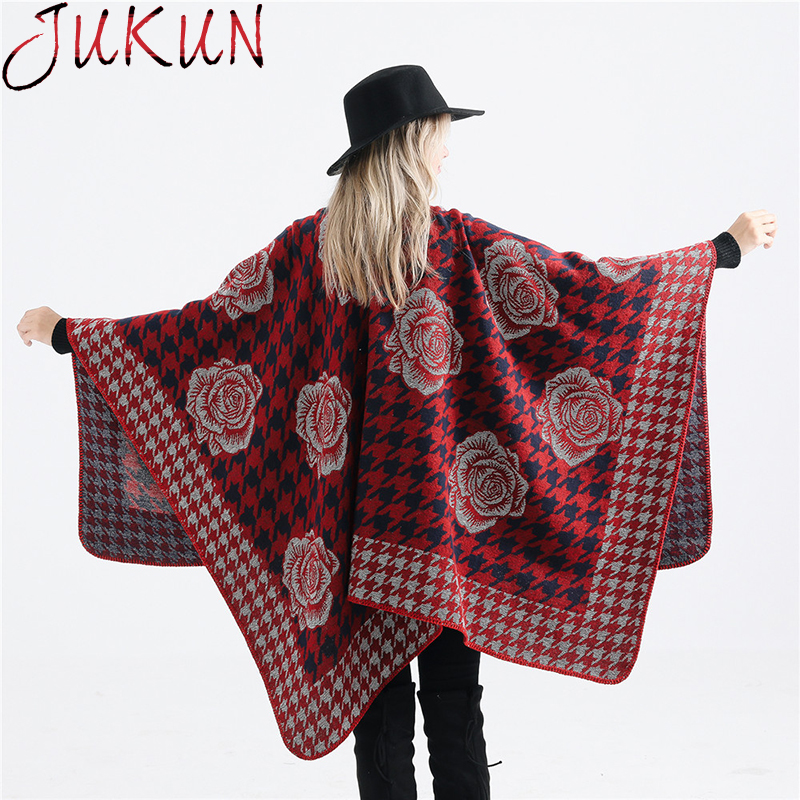 Women Scarf Winter Autumn Women Scarves Wrap Shawl Thick Scarf Warm Gold Silk Flower Pattern Wild Imitation Cashmere Scarf in Women 39 s Scarves from Apparel Accessories