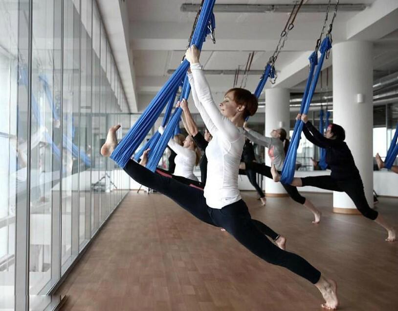 yoga hammock swing yoga belts yoga swing stretching strap(31)