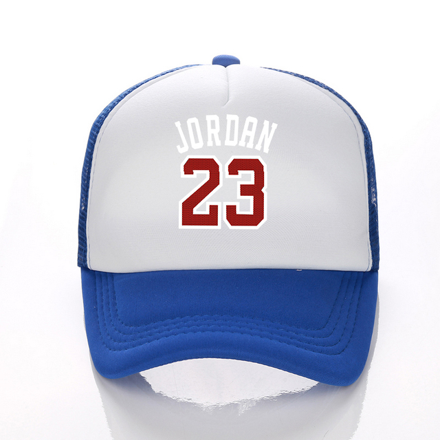 1f09f5797a56 Cool Red letter 23 baseball cap Hip Hop Snapback hat Simple Classic Caps flat  bill baseball