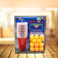 Outdoor leisure game beer pong Beer Ping Pong Game Cup Bar game supplies