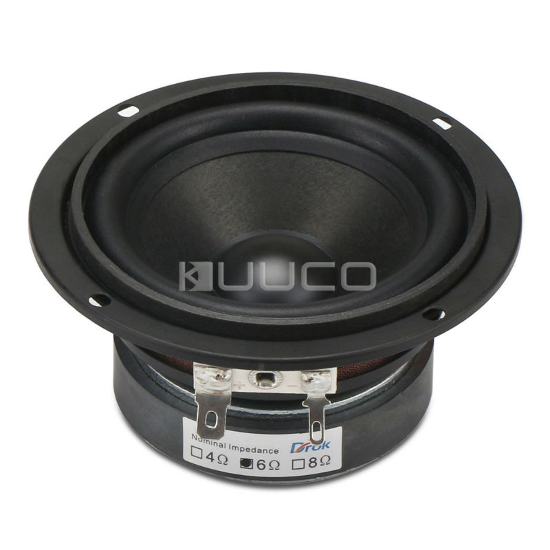 DIY Full-range speaker 15W Antimagnetic Speaker 3 inches 6 ohms HiFi Audio Speaker for Multimedia/PC/Home speakers etc s3w se 2 0 multimedia speaker system mini multimedia speaker 1way order vented full range speaker 3 full range driver bass