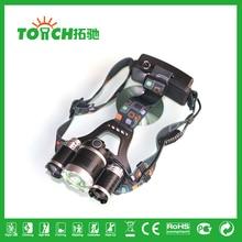 XML CREE 1*T6 + 2*R2 3x CREE  LED 3000Lm Rechargeable Headlamp Headlight Head lamp torch lighr flashlight for Fishing Bike 7028