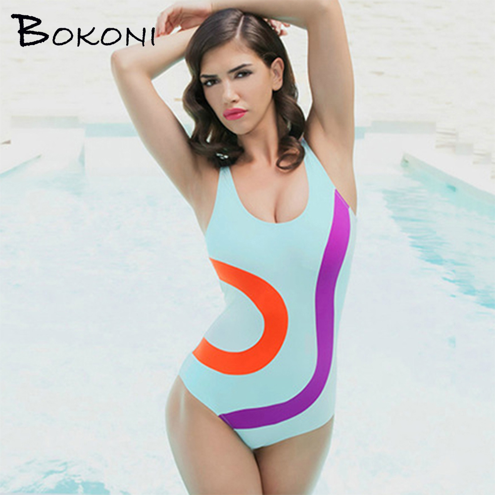 2017 Sexy Print One piece Swimsuit Women Push Up Swimwear Bathing Suit female Monokini Women's Bodysuit Beachwear Swimsuit thong 2017 sexy push up dress one piece suit boxers pleated show thin swimsuit bathing suit for women girl swimwear beachwear m 2xl