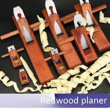 Máquina de afeitar de Madera de Secoya Madera cepillado cepilladora cepilladora para trabajar la madera plano Pequeña avioneta herramientas de carpintero Carpintería cepilladoras