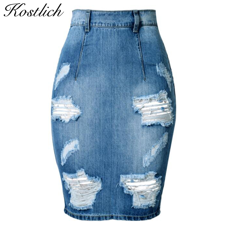 Popular Rip Jean Skirt-Buy Cheap Rip Jean Skirt lots from China ...