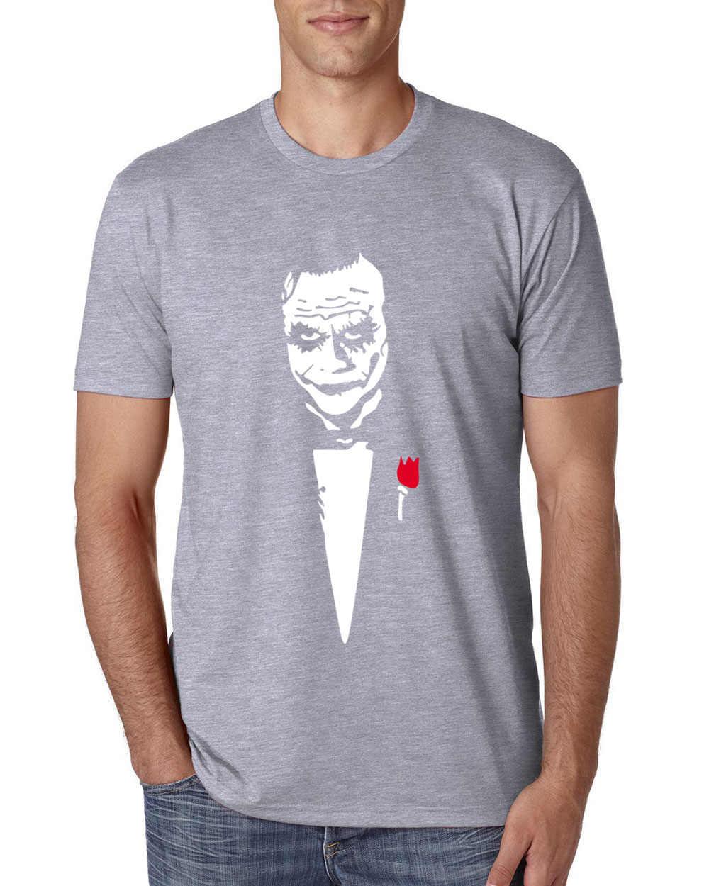 Harajuku короткий рукав хип-хоп топы летняя рубашка забавный Джокер хит повседневные camisetas почему так много Футболка Мужская хлопковая футболка 2019