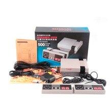 Фирменная Новинка Мини телевизор, портативная игровая консоль игровой консоли для ne игры с 500 различных Встроенные игры PAL и NTSC