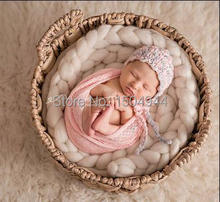 160*50cm Mesh Gauze Cheesecloth Wraps Baby To Maternity Photography Props Hammocks For Newborn Photo