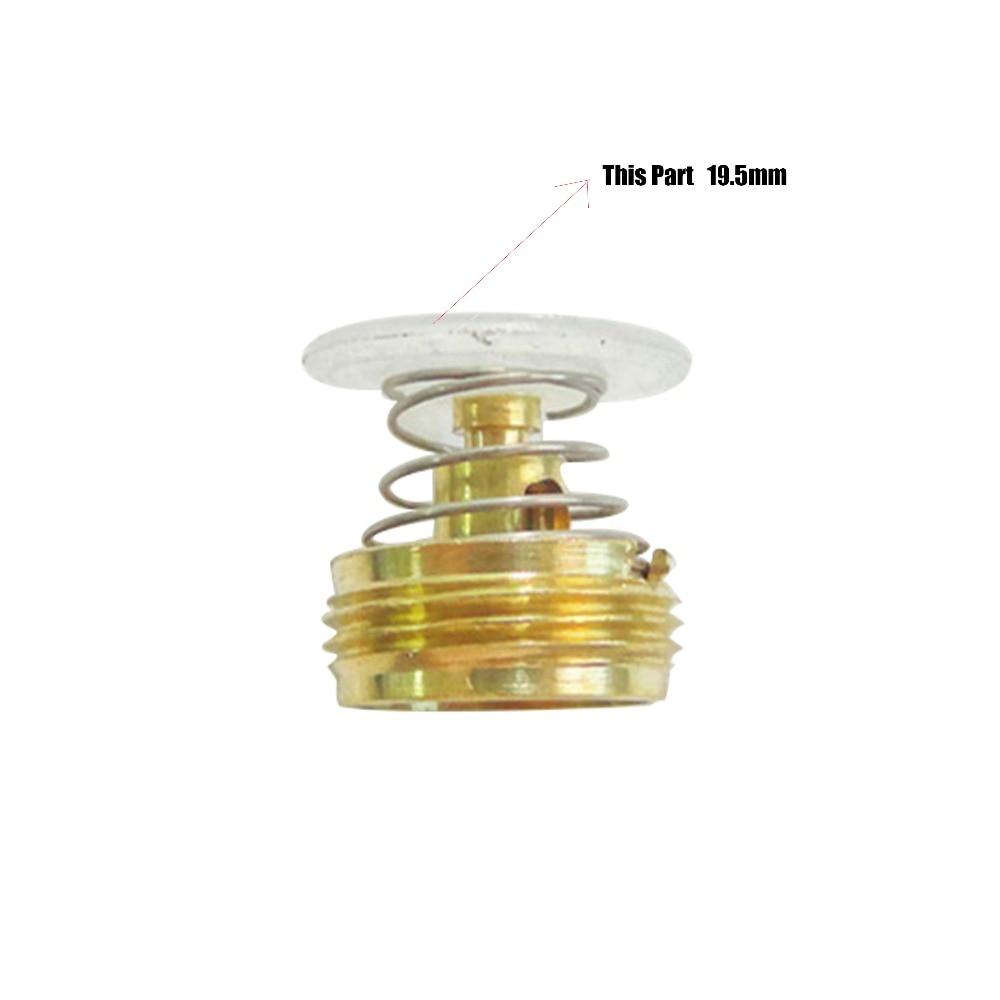 Газовый водонагреватель латунь управление клапан Core пластик белый кепки крышка шт 100 шт./лот OD = 19,5 мм
