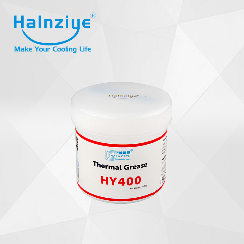 1000g HY400 series Conductivite  Thermal Grease laptop cpu cooler/LED heat sink with SGS&ROHS synthetic graphite cooling film paste 300mm 300mm 0 025mm high thermal conductivity heat sink flat cpu phone led memory router