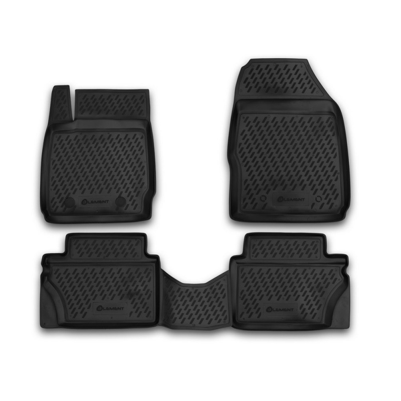 Фото - Mats in the salon For FORD Fiesta 2008-2011, 4 PCs (polyurethane) mats in the salon for opel insignia 2008 4 pcs polyurethane