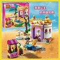 10434 Экзотические Дворец 145 шт./компл. БЕЛА Строительные Блоки Друзья 41061 Принцесса Девушка Diy Кирпичи игрушки Совместимость с Lego
