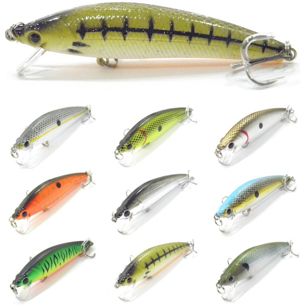 wLure Minnow Crankbait Hard Bait Shallow Depth Wide Wobble Weight Transfer Slow Floating Jerkbait 10.6g 8.9cm Fishing Lure M501 5pcs lot minnow crankbait hard bait 8 hooks lures 5 5g 8cm wobbler slow floating jerkbait fishing lure set ye 26dbzy
