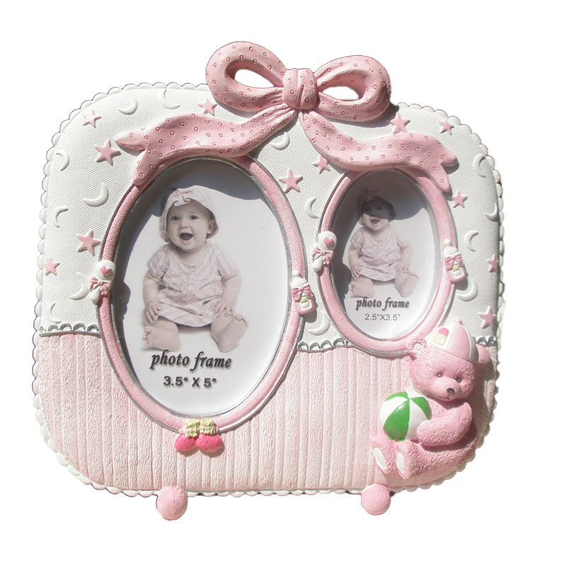 Creative Picture Frame Lovely Resin Babys Collage Photo Frame ...