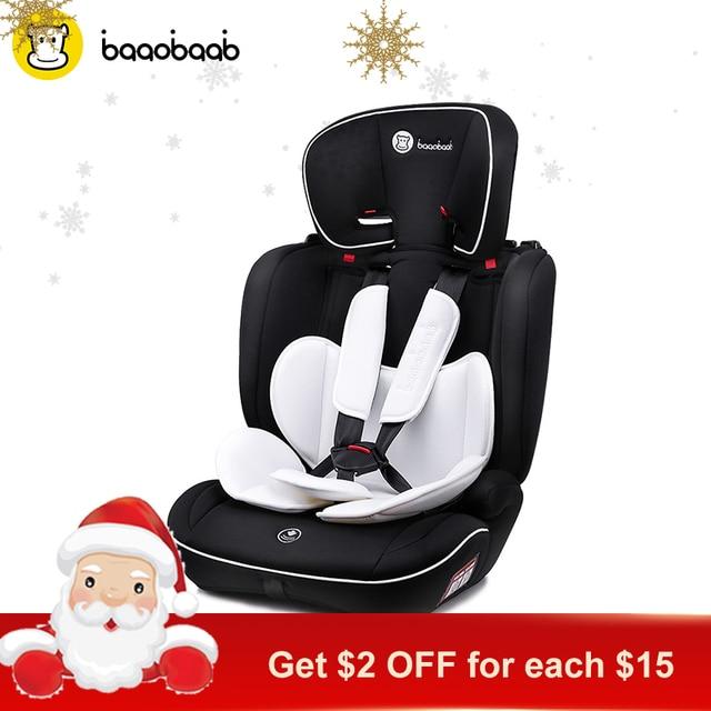 Baaobaab BA05A 9 M 12 Years Old Child Car Seat Forward Facing 36