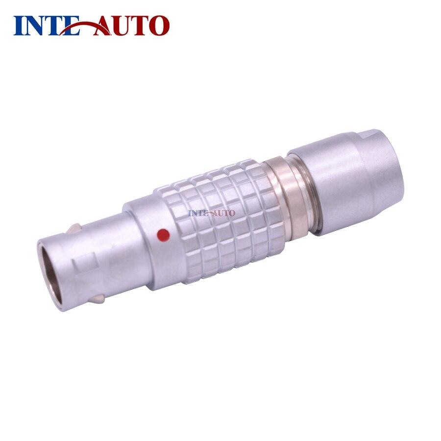 LEMOs stecker, 2,3, 4,5, 6,7, 9 pins, M9 metall messing push pull selbsthemmung stecker, männlichen elektrischen stecker, ohne zugentlastung