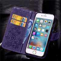 case iphone 5 Leather Phone Case Wallet Cover For iPhone 5 5S SE 6 6S Plus 7 8 Plus Shell Capa Flip Stand Book For iPhone X XS Max XR Cover (4)