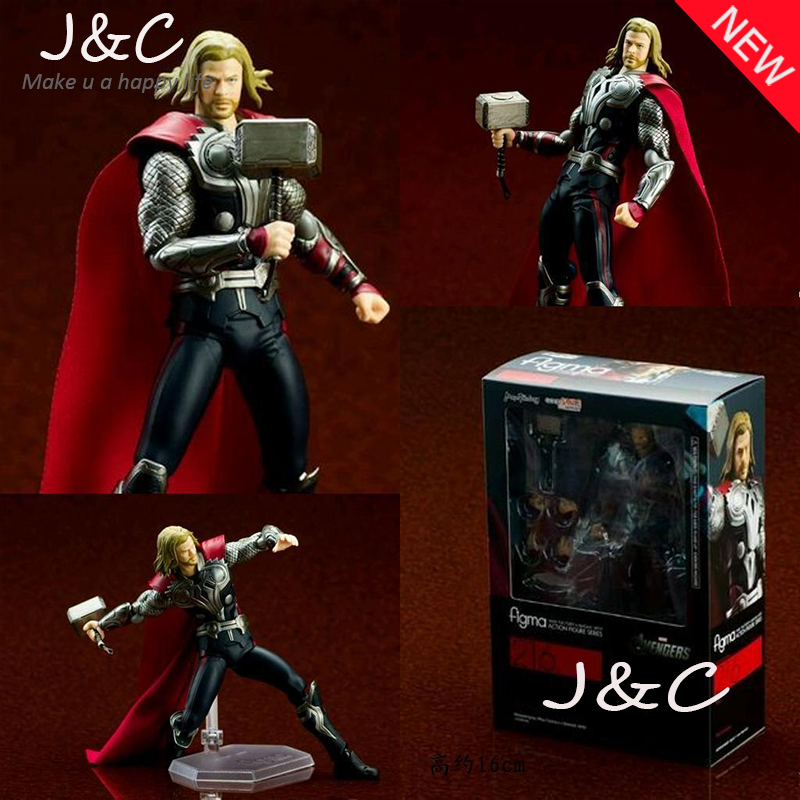 2016 New The Avengers Action Figure Movie Cartoon Thor 16cm PVC Model Anime Model Toys kids toys image